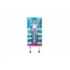 Maq.Gillette Simply Mujer Disp.8 Uds