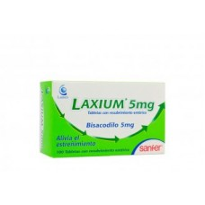 Laxium 5 Mg 100 Tabletas